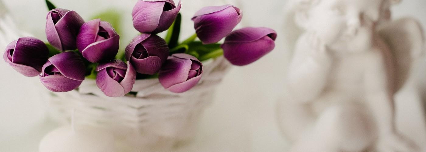 Цветы Natural Touch тюльпаны