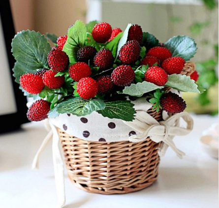 Искусственныя ветка ягоды